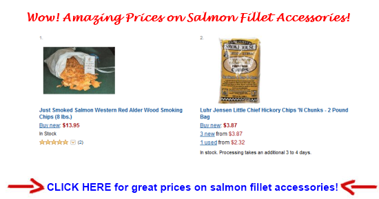salmon fillet accessories